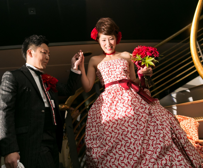 ブライダルレポート Hiroshi & Sakiko