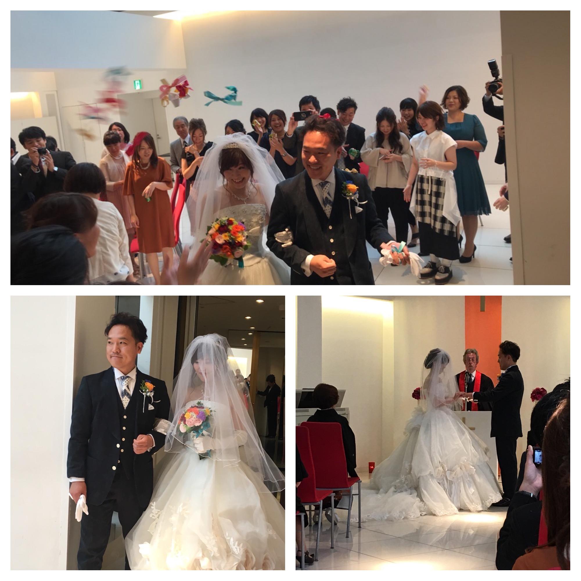 ブライダルレポート Tomohiro & Kiriko実際の写真1